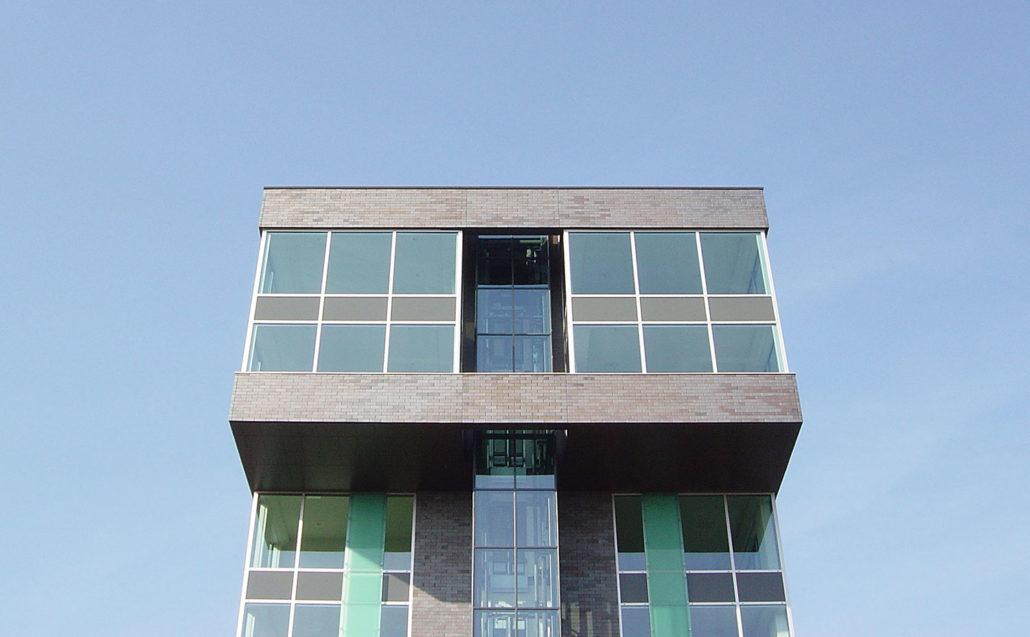 Kantoor woonconcept meppel leo kroon architect bna - Kantoor transparant glas ...