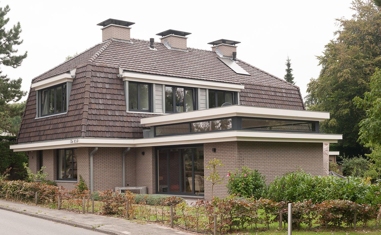 Uitbreiding woonhuis wassenaarse slag leo kroon architect bna - Uitbreiding hoogte ...